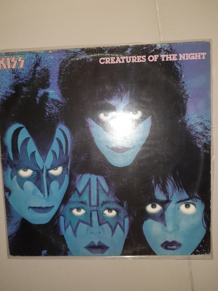 Lp Kiss Creatures Of The Night