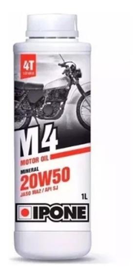 Aceite Moto Ipone 20w50 Mineral Frances Motoscba