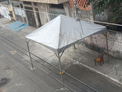 Imagem 1 de 4 de Tenda 4x4 Galvanizada