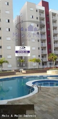 Imagem 1 de 12 de Apartamento Para Venda Em Bragança Paulista, Jardim São Lourenço, 2 Dormitórios, 1 Banheiro, 1 Vaga - 1978_2-1191205