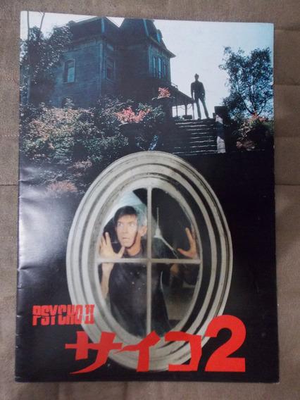 Revista Psycho Ii Programa Japonês