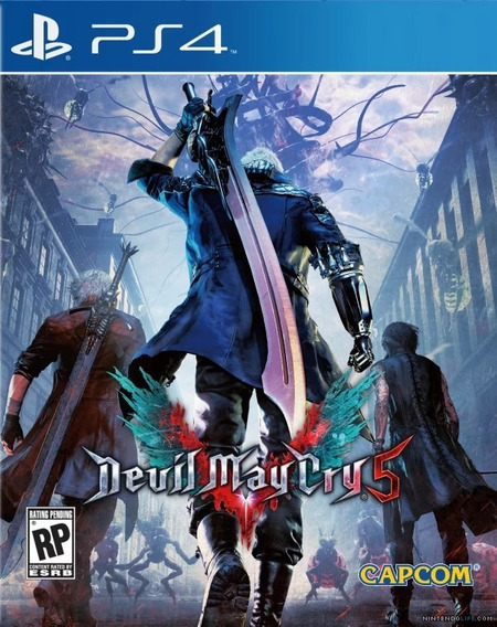 Devil May Cry 5 - Ps4 - Midia Fisica!