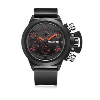 Modelo Varon Reloj Deportivo Moderno Megir Cronometro Fecha