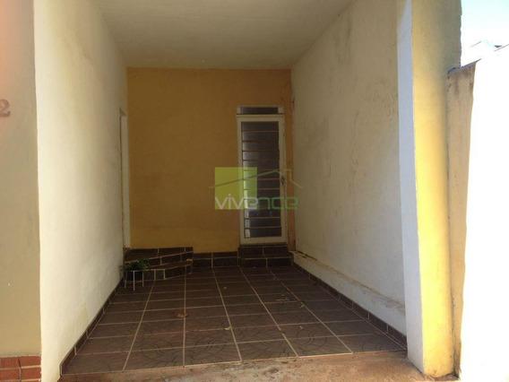 Casa Residencial À Venda, Jardim Eulina, Campinas. - Ca0515