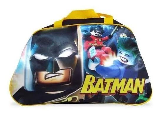 Bolsa Infantil Para Viagem Batman