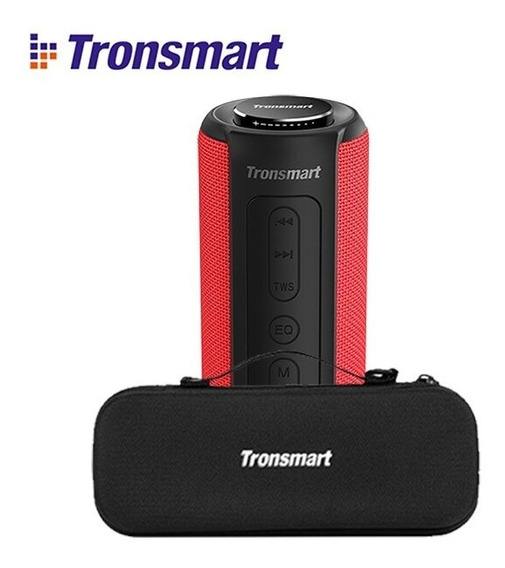 Caixa De Som Tronsmart Element T6 Plus 40w Bluetooth + Case