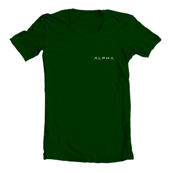 Camiseta Camisa Musculação Treino Academia Alpha Fitness