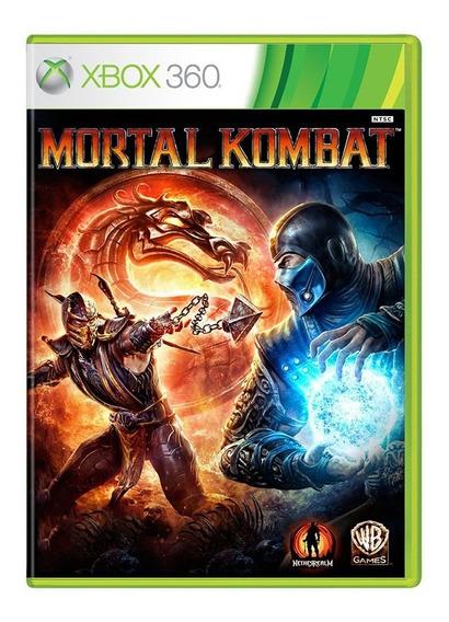 Mortal Kombat 9 - Xbox 360 - Original - Usado