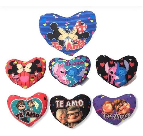 Peluche Cojines Corazón Personajes Ideal Para Detalles #234