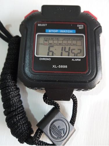 Reloj Digital, Cronometro De Mano