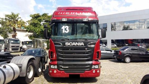 Scania R440 6x4 Opticruise Ano 2013