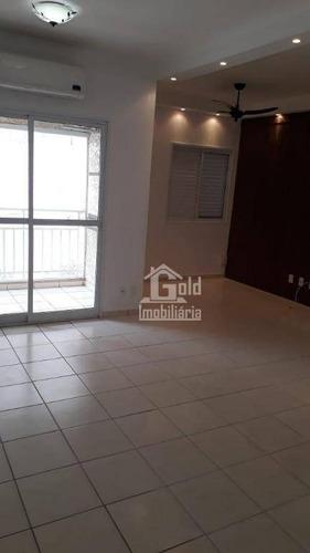 Apartamento Com 2 Dormitórios, 67 M² - Venda Por R$ 270.000,00 Ou Aluguel Por R$ 1.200,00/mês - Parque Industrial Lagoinha - Ribeirão Preto/sp - Ap4378