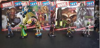 Marvel 3d Heroes Figuras Ineditas En Argentina !! Groot