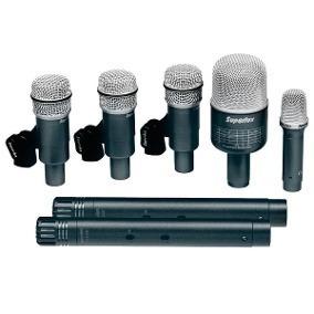 Kit De Microfone Set De Bateria Superlux Drkb5 C2 Mkii