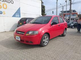 Chevrolet Aveo 2011 Color Rojo