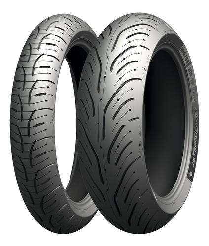 Cubierta Michelin Pilot Road 4 190 55 17  - Um