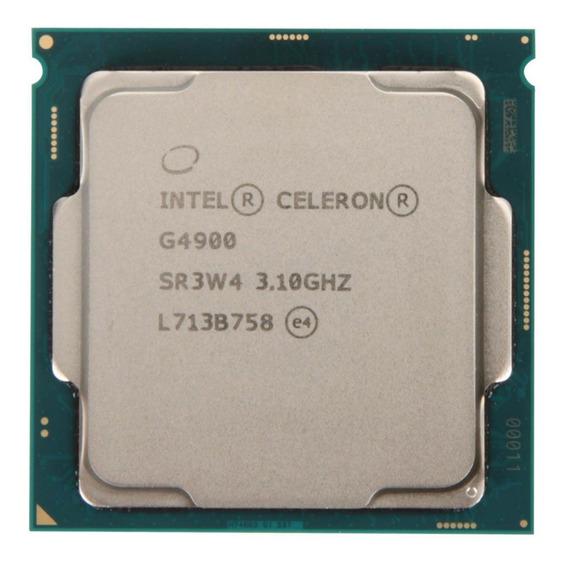 Processador Intel Celeron G4900 2 núcleos 64 GB