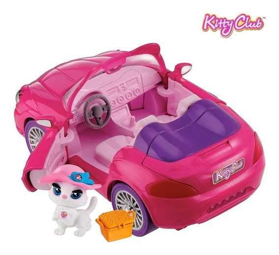Auto Convertible Para Mascota Kitty Club O Little Pet Shop
