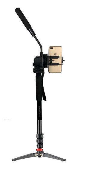 Monope Hidraulico DigiPod P Galinha 1,80m Camera E Celular