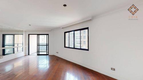Apartamento Com 3 Dormitórios À Venda, 114 M² Por R$ 1.150.000,00 - Perdizes - São Paulo/sp - Ap52846