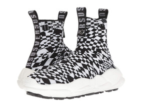 Zapatillas Hombre Versace Checkerboard Socks