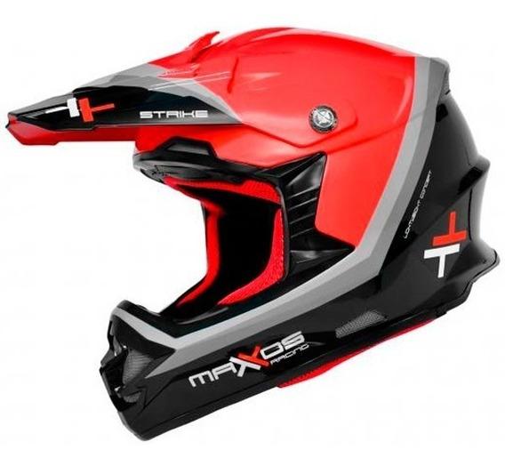 Capacete Mattos Racing Mx Pro Strike
