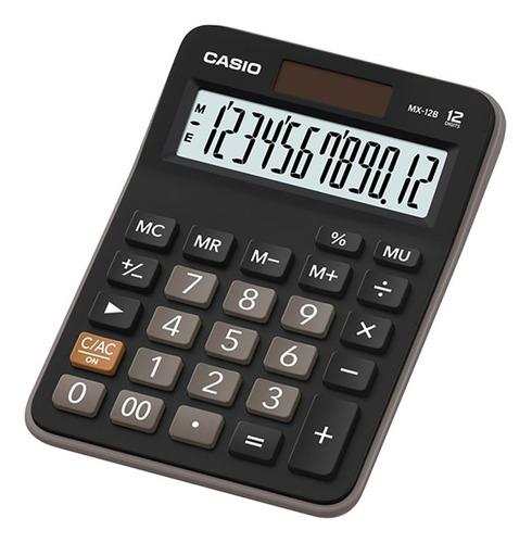 Calculadora Escritorio Casio Mx-12b Garantia Oficial 2 Años