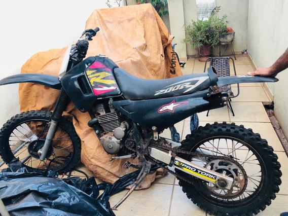Moto De Trilha Honda