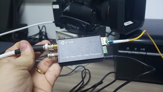 Kit Extensor / Par De Conversor Sdi Para Fibra Optica - 20km