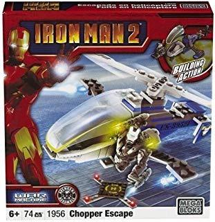 Mega Bloks Ironman 2vehículo/fig Warmachine Envío Gratis