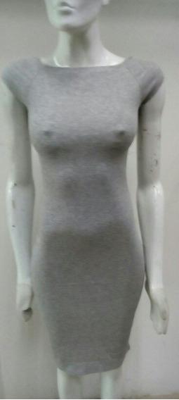 Vestido Casual Gris