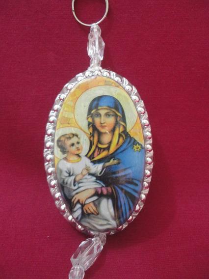 Escapulário Católico De Porta - Mãe Maria