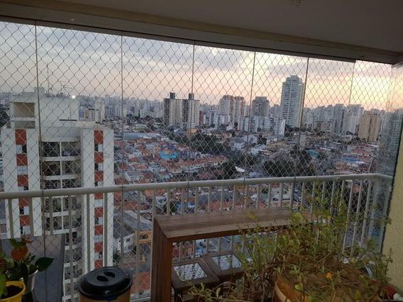 Mero Alto Do Ipiranga, 2 Dormitórios, Suite, 2 Vagas, Andar Alto - Bi25201