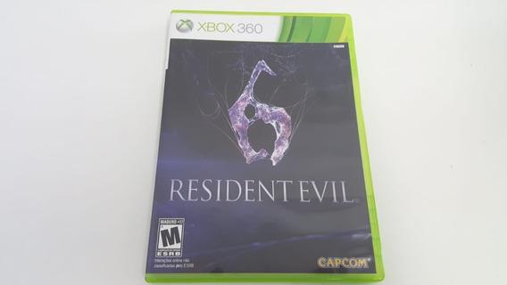 Jogo Resident Evil 6 - Xbox 360 - Original