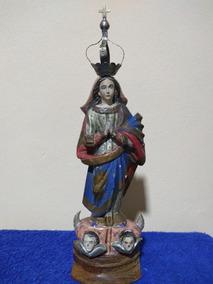 Imagem Antiga Nossa Sra Da Conceição - Sec. 19