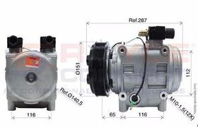 Compressor  Onibus Tm31 8pk 24v Produto Novo