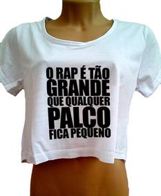 7cefc3593c Regata Racionais Sem Mangas - Camisetas e Blusas no Mercado Livre Brasil
