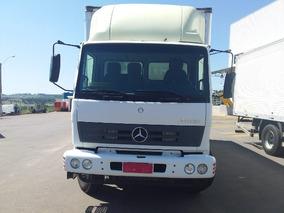 Mercedes-benz Atron 1719 Ano 2014 /2014 Com Baú