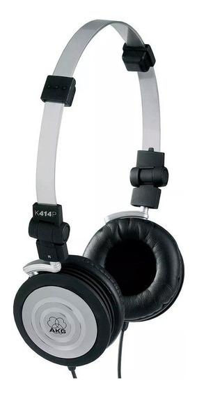 Fone Ouvido Akg K414 K414p Headphone Profissional + Bolsa