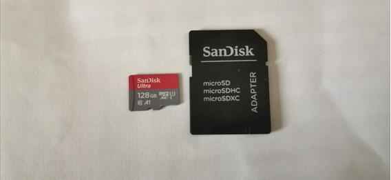 Cartão Microsd Sandisk Ultra A1 128gb Usado