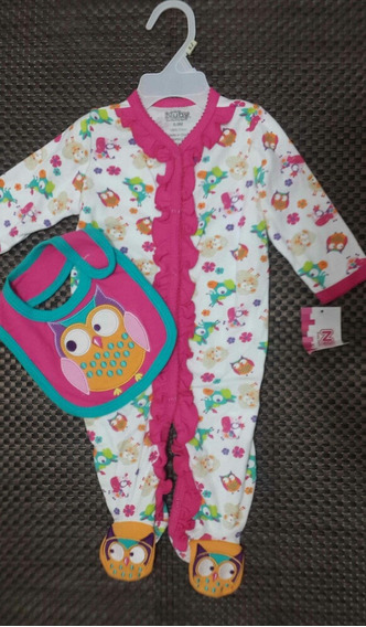 Pijama Nuby 2 Piezas Talla 3 A 6 Meses