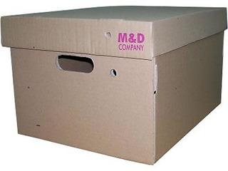 Caja Archivo Super Reforzada Cartón Corrugado Myd 403