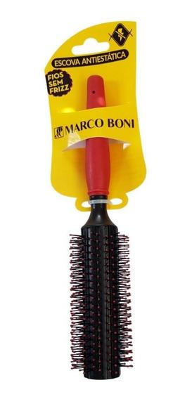 Escova De Cabelo Anti Estática 24mm Sem Frizz Marco Boni