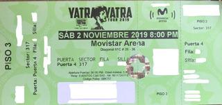 Boletas Sebastián Yatra Bogotá Tercer Piso Con Mercado Pago