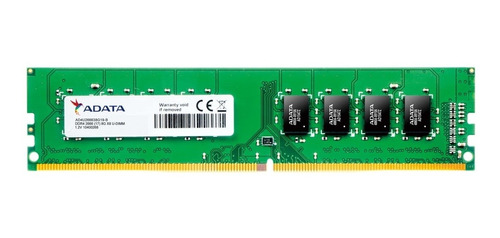Memoria Adata Ddr4 U-dimm 8gb 2666 Mhz