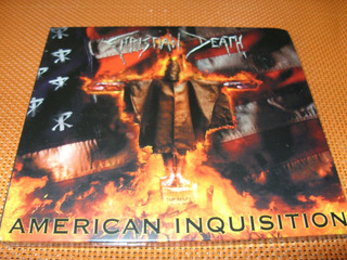 Christian Death American Inquisition Cd Digipack Nuevo