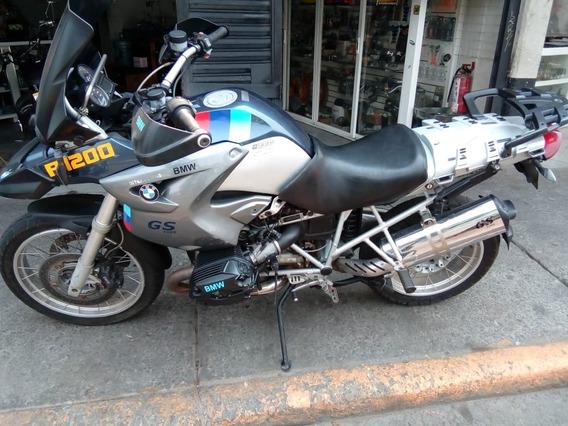Bmw Gs 1200 R - 05 Doble Propósito, Jalando, Leves Detalles