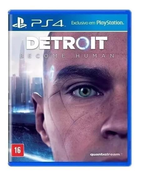 Detroit Become Human Playstation 4 Original Novo Promoção!