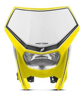 Farol Moto Trilha Universal Crf 230f Pro Tork Off Road