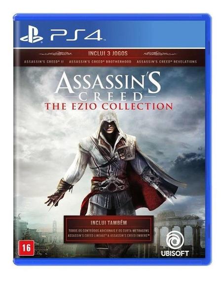 Assassins Creed The Ezio Collection Ps4 Mídia Física Lacrado